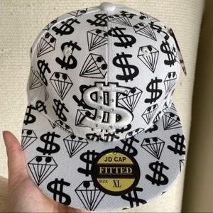 Costume Dollar Sign Baseball Cap Money Hip Hop Hat